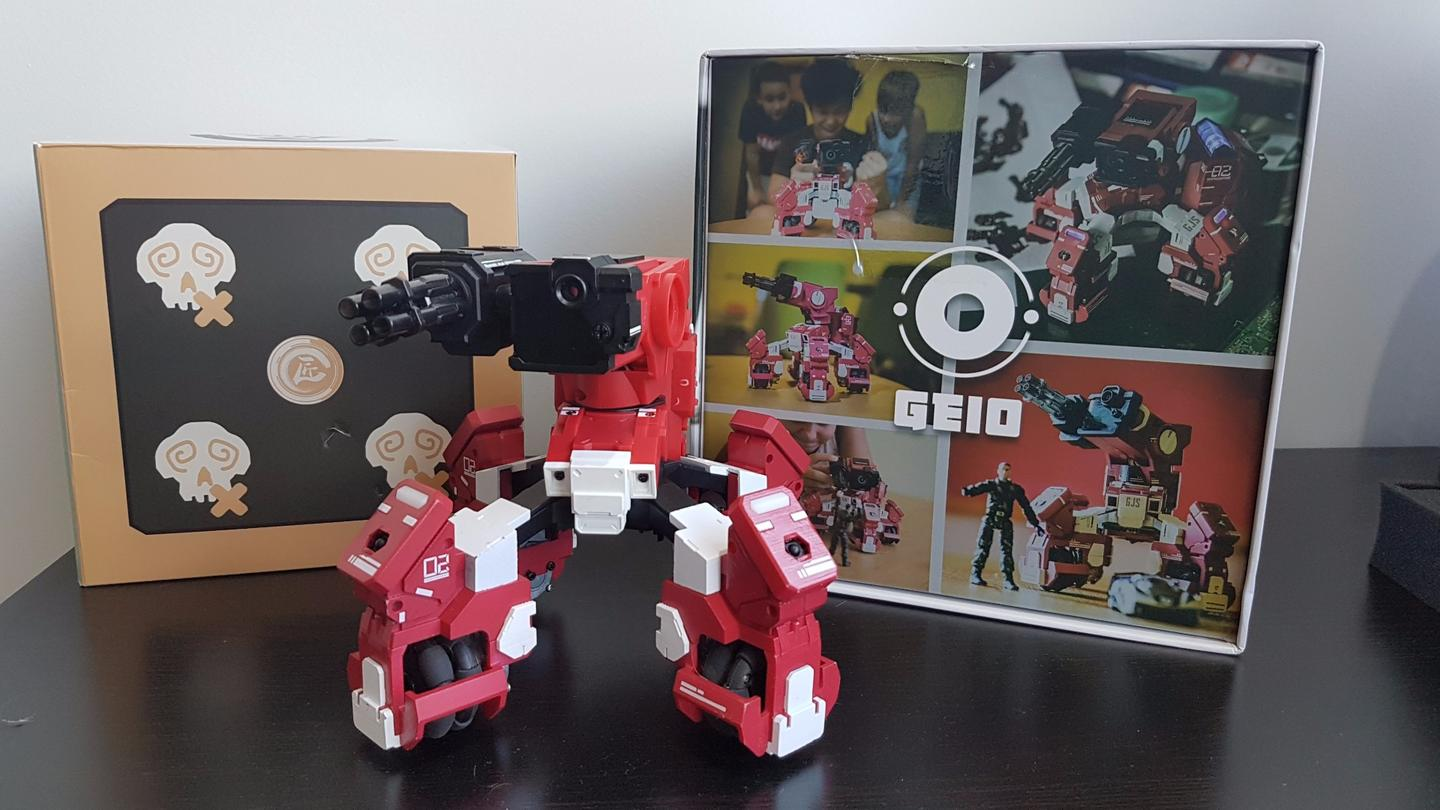 New Atlas goes hands on with Geio, a first-person battle robot from GJS