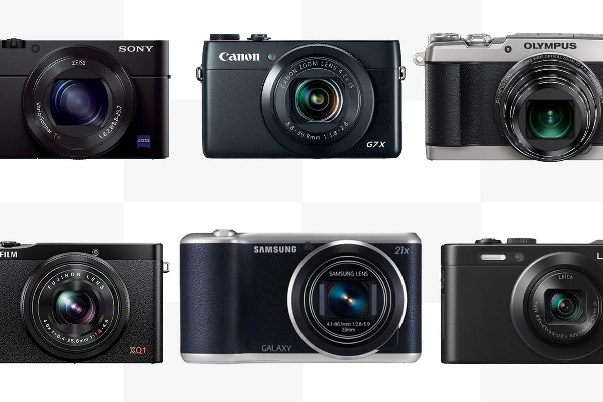Gizmag compares the feature and specifications of some of the best small compact cameras on the market