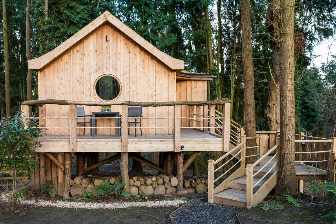 The Bird house measures a total of 30 sq m (322 sq ft) and was completed earlier this year
