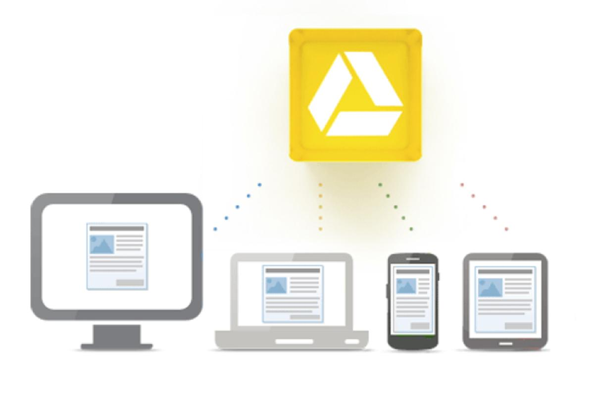 Google Drive offers 5 GB of free cloud storage that can be accessed anywhere on the web