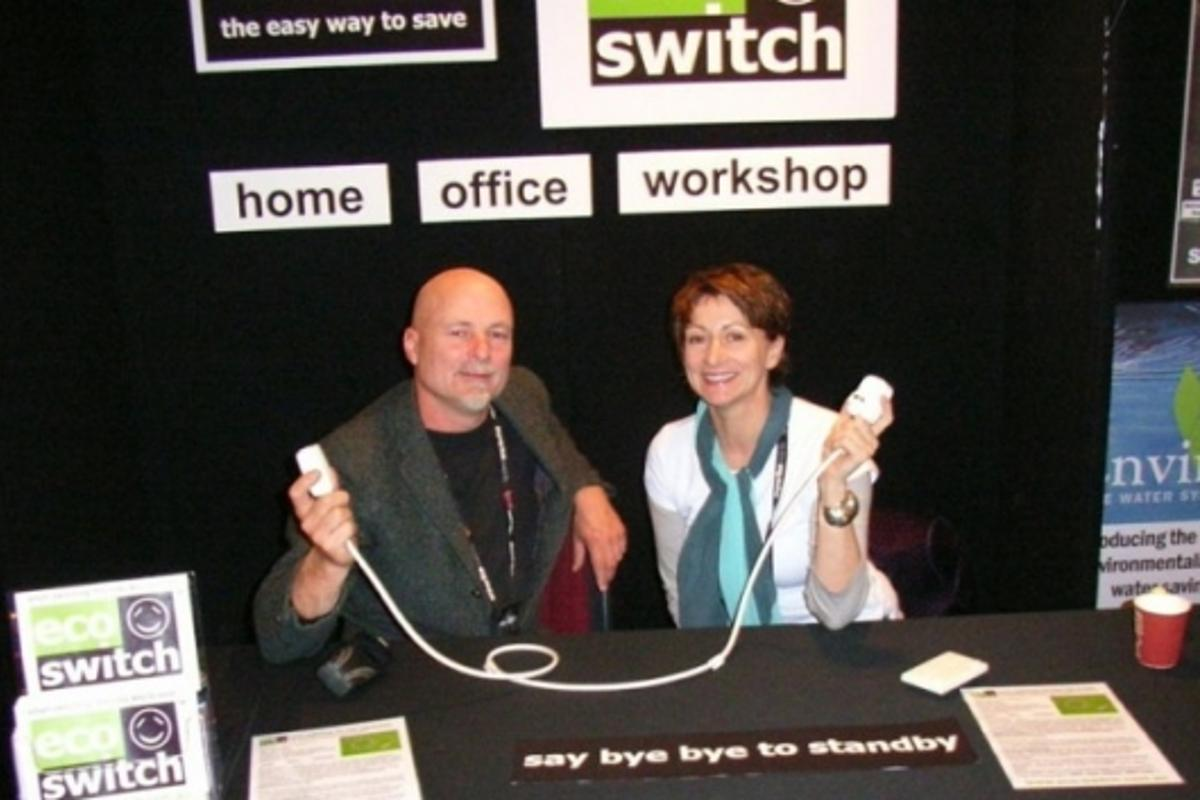 The eco-switch is a simple and inexpensive energy-saving device that lets you relocate the power point switch to a more convenient spot