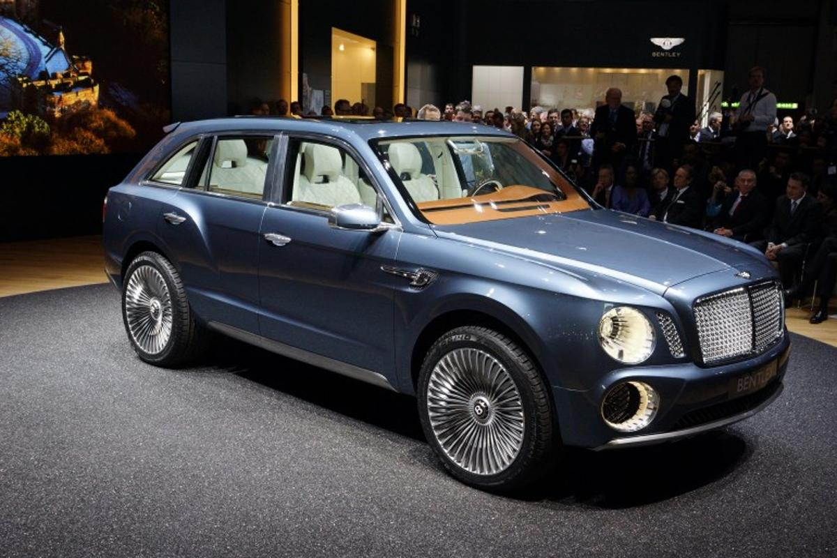 Bentley's EXP 9 F, which debuted at the 2012 Geneva Motor Show