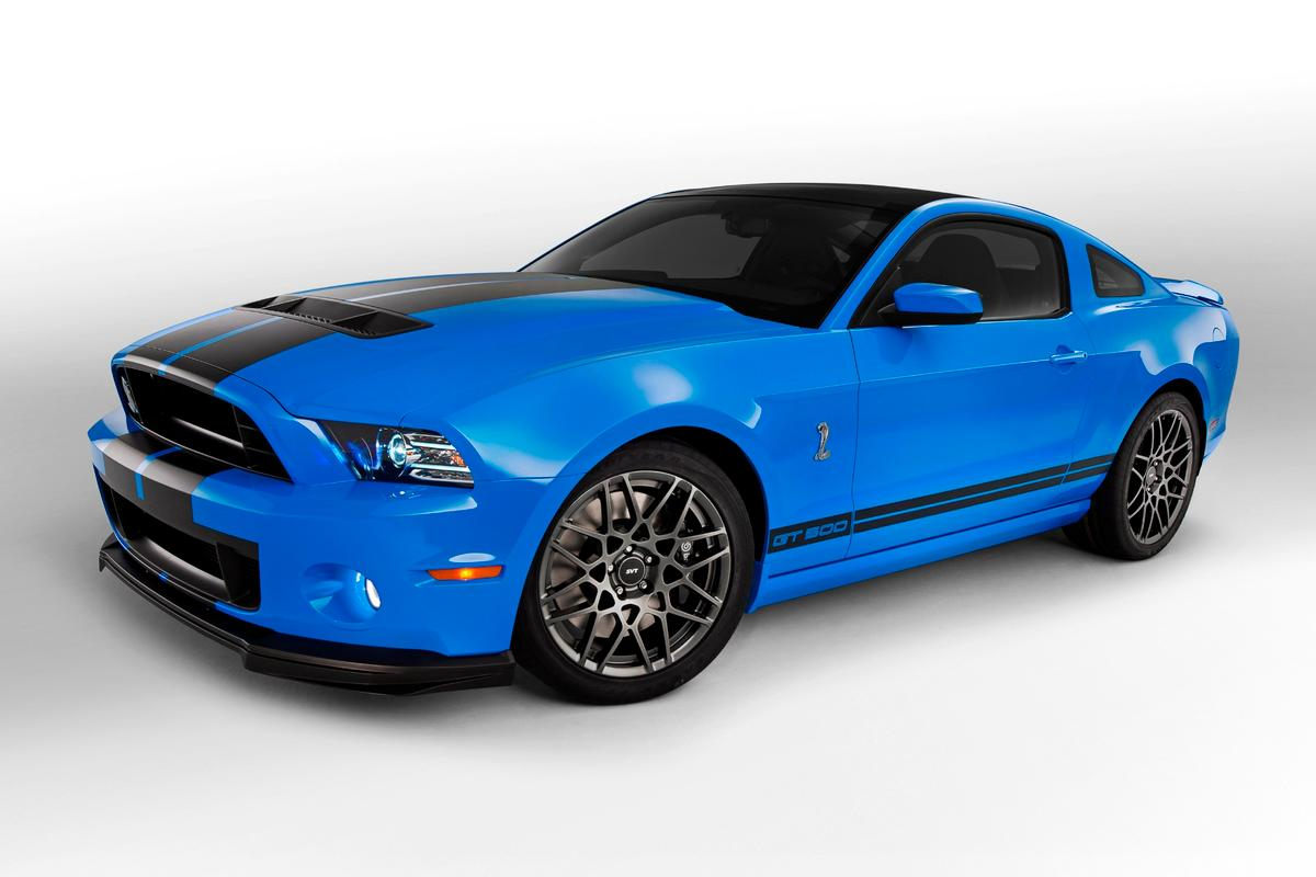 The 2013 Ford Shelby GT500