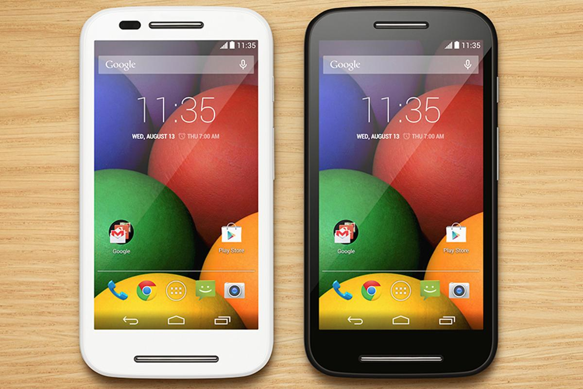 The Moto E delivers capable specs at a budget price