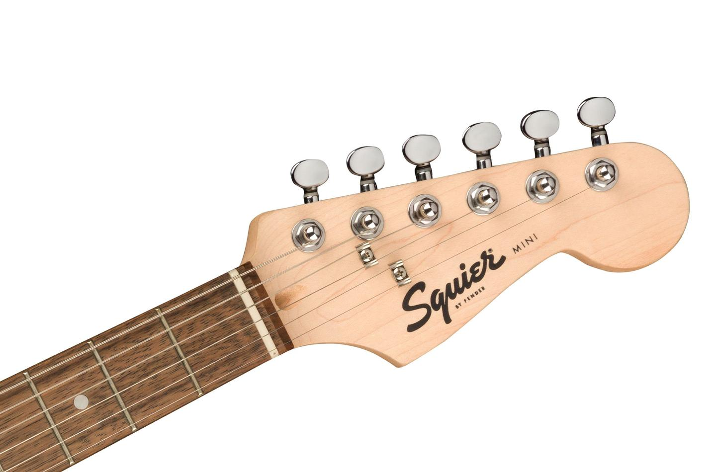 In case you couldn't tell that this is a Mini guitar, it's written on the headstock