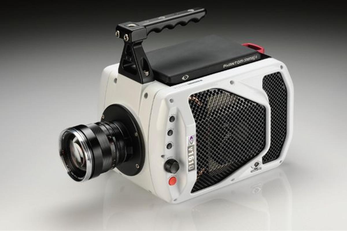 Vision Research's Phantom v1610 high-speed digital camera shoots 1 million fps videos