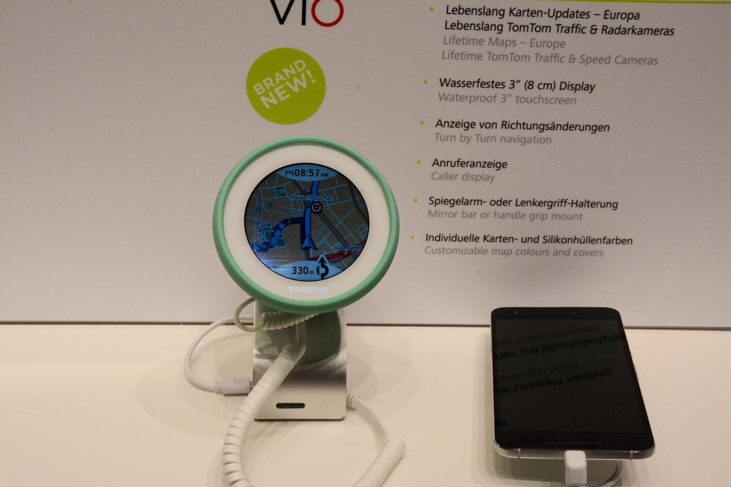 The TomTomVIOon show at IFA 2016