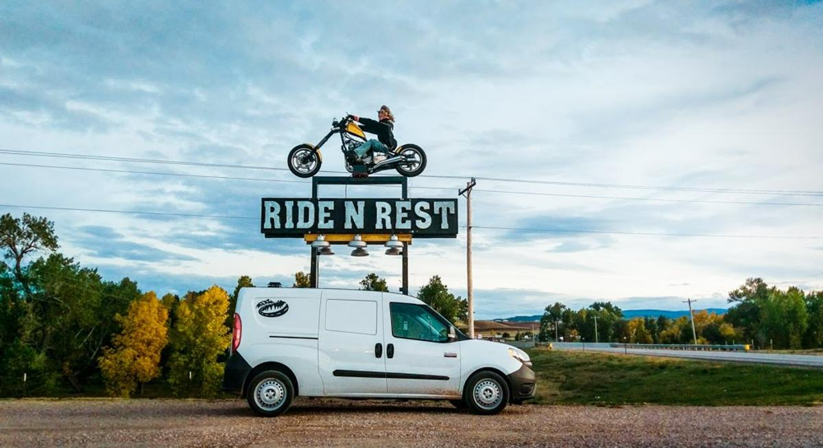 Road-tripping with the Ram Promaster City-based Cascade camper van