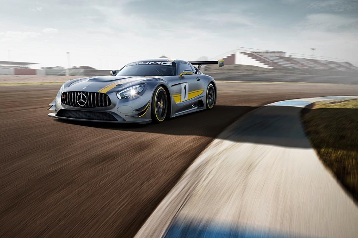 The new GT3 racer from Mercedes-AMG