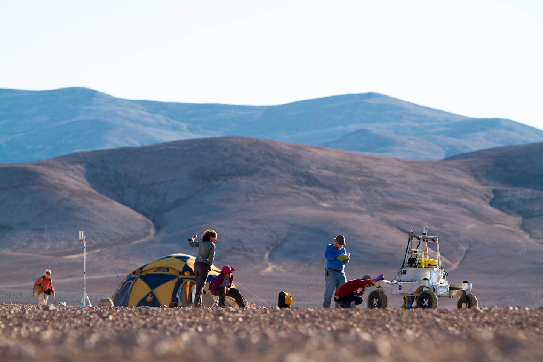 NASA's Atacama Desert testing of Mars instruments will continue until 2019