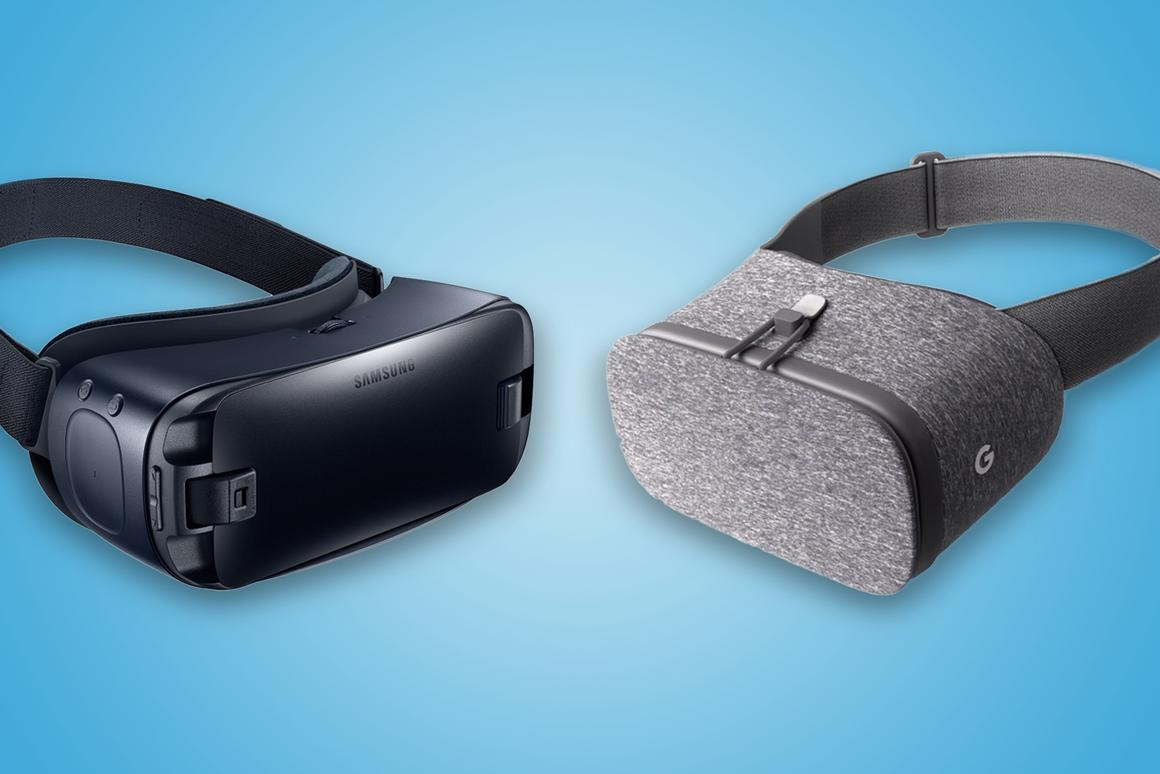 New Atlas compares the features and specs of the Samsung Gear VRand Google Daydream View mobile virtual reality headsets