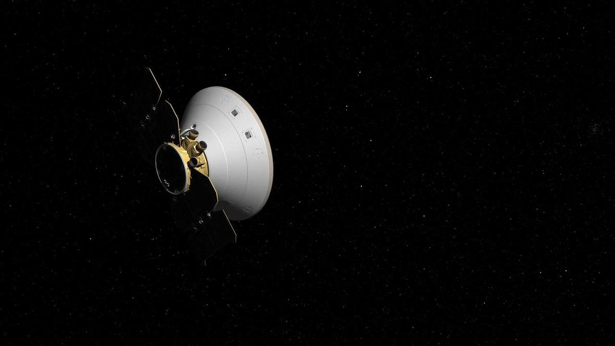 Artist's concept of InSight in its cruise stage
