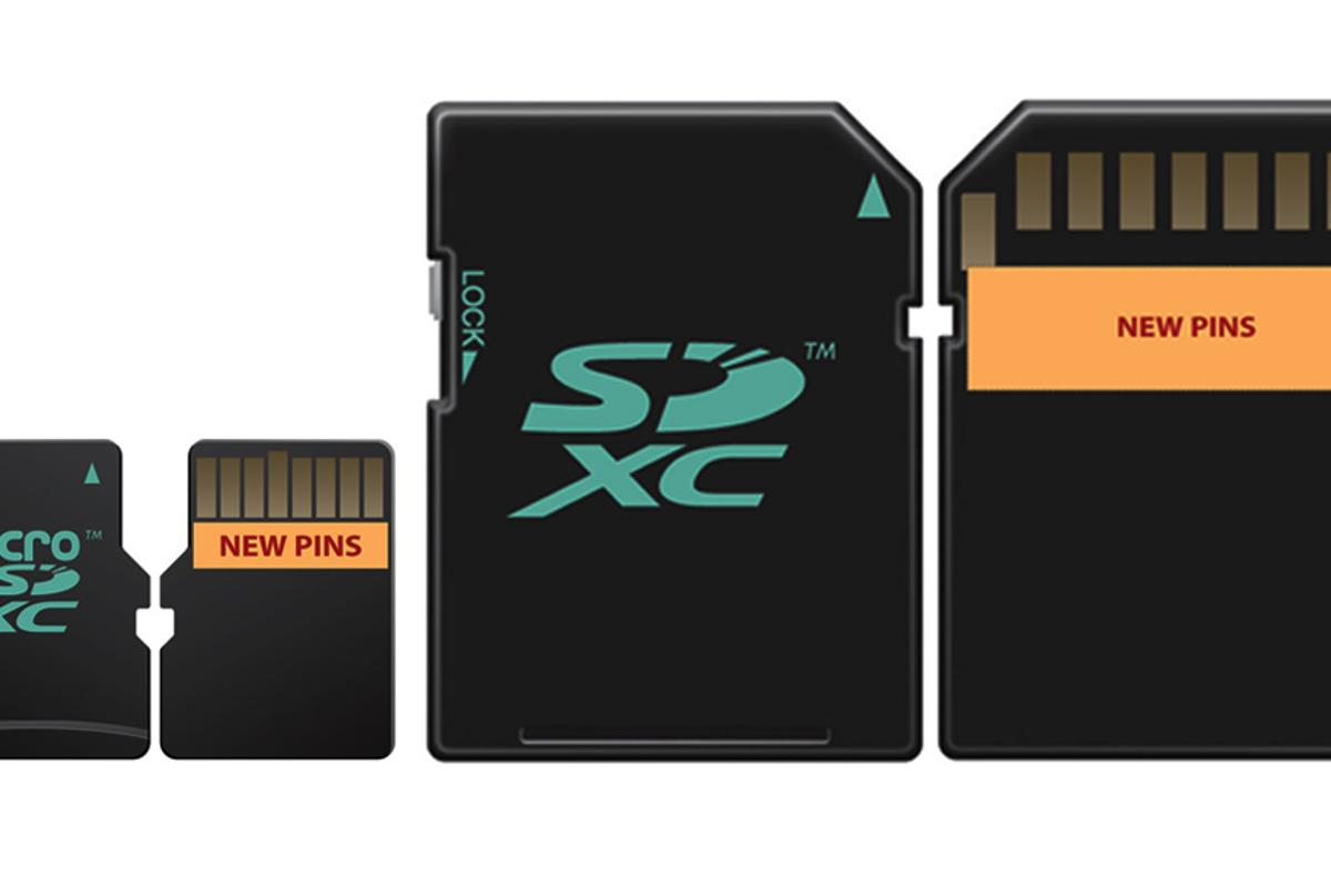 The new dual-row pin memory card design