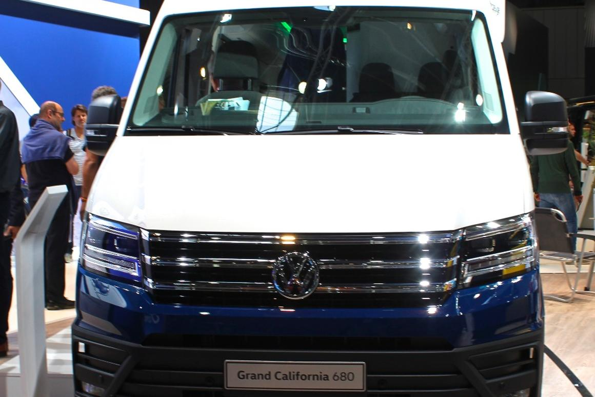 Volkswagen prices the Grand California camper van and debuts