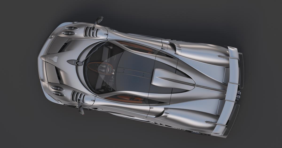 Pagani's €5-million Imola hypercar looks just like the €2-mil Huayra