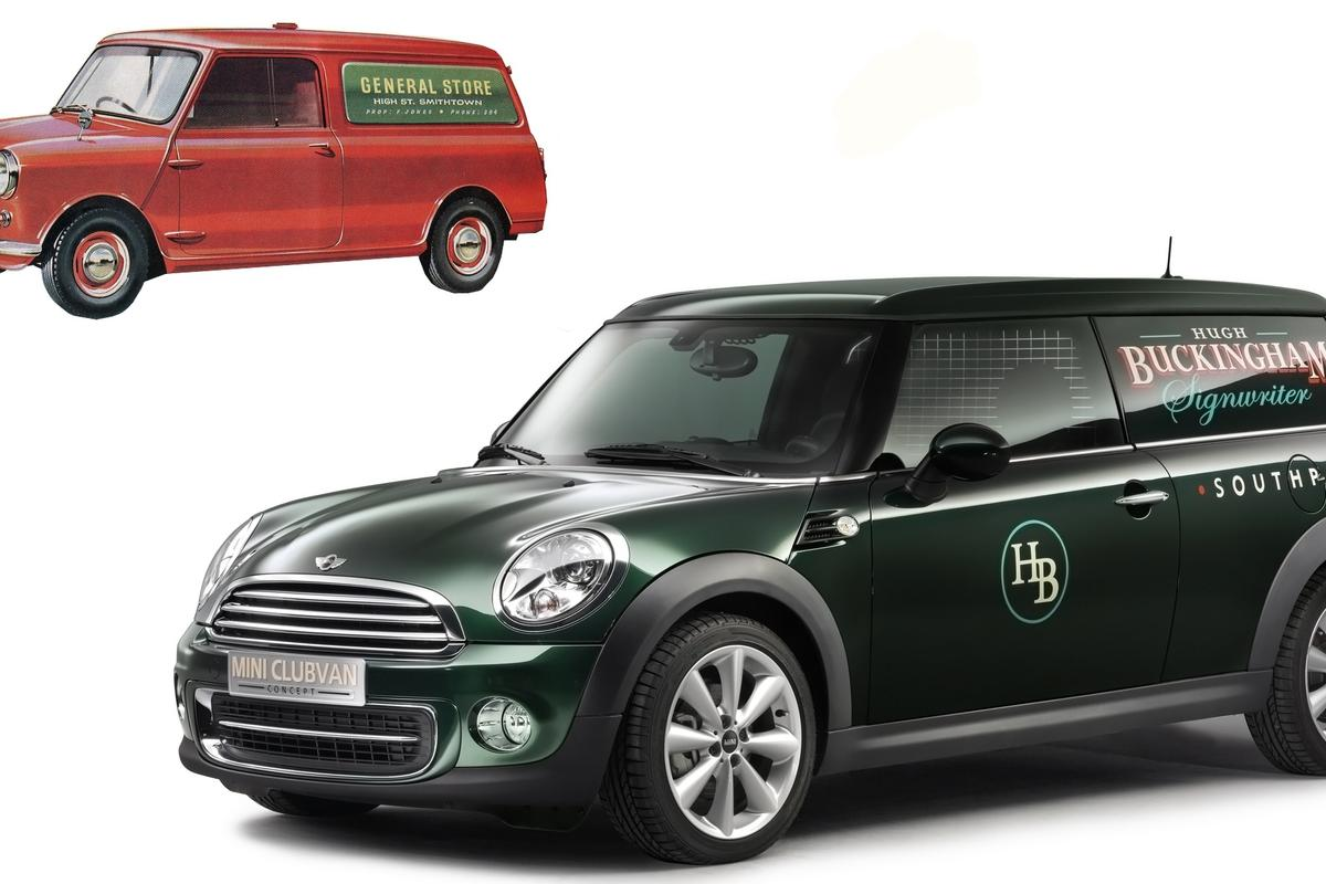 """The class-conscious brand custodians at Mini would be concerned about the Mini's brand values getting it on with those proletarian blue collar commercial mutts down the road and sullying the family name ... again."""