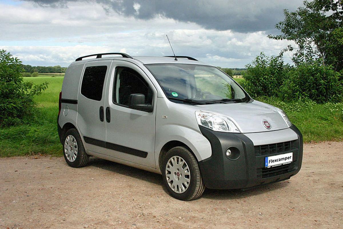 Flexcamper's Fiat Fiorino mini-campervan