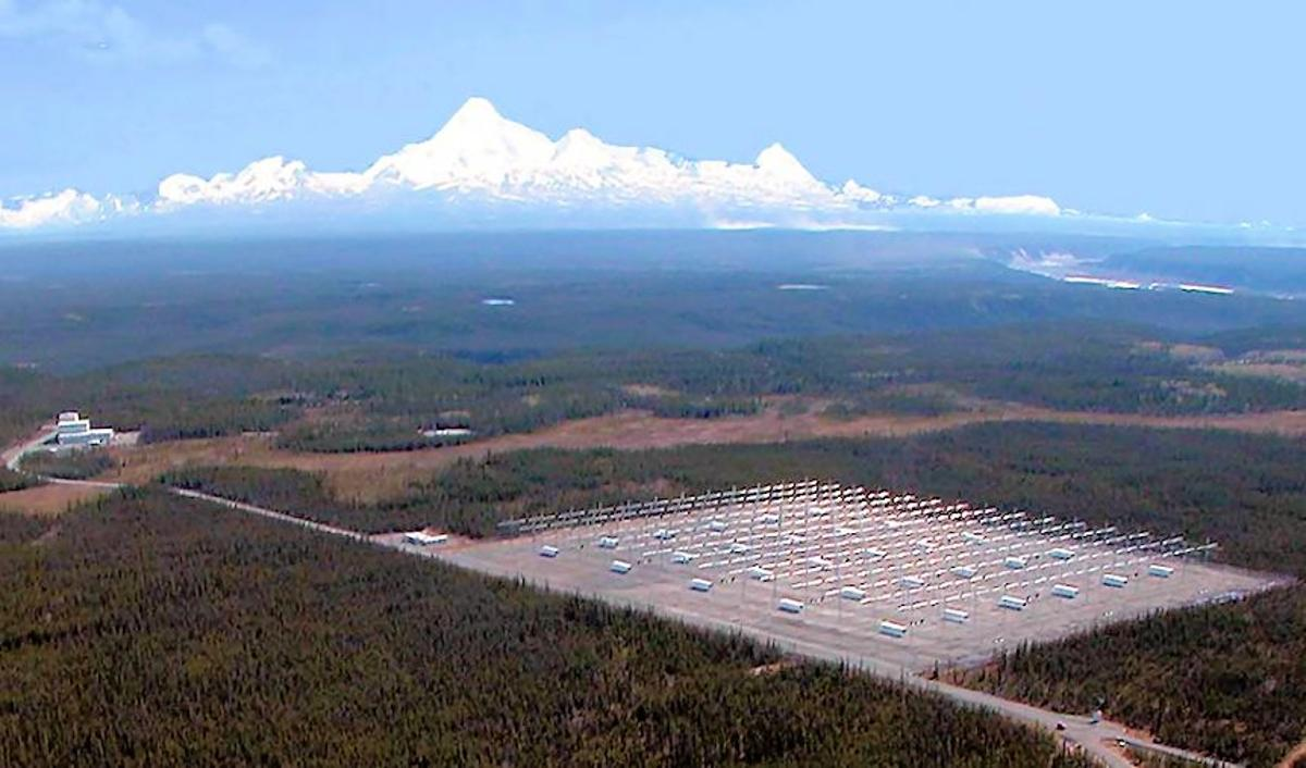 HAARP operational site on the edge of Denali State Park northeast of Anchorage, Alaska (Photo: HAARP)