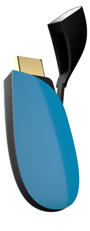 A close view of the PLAiR media streamer