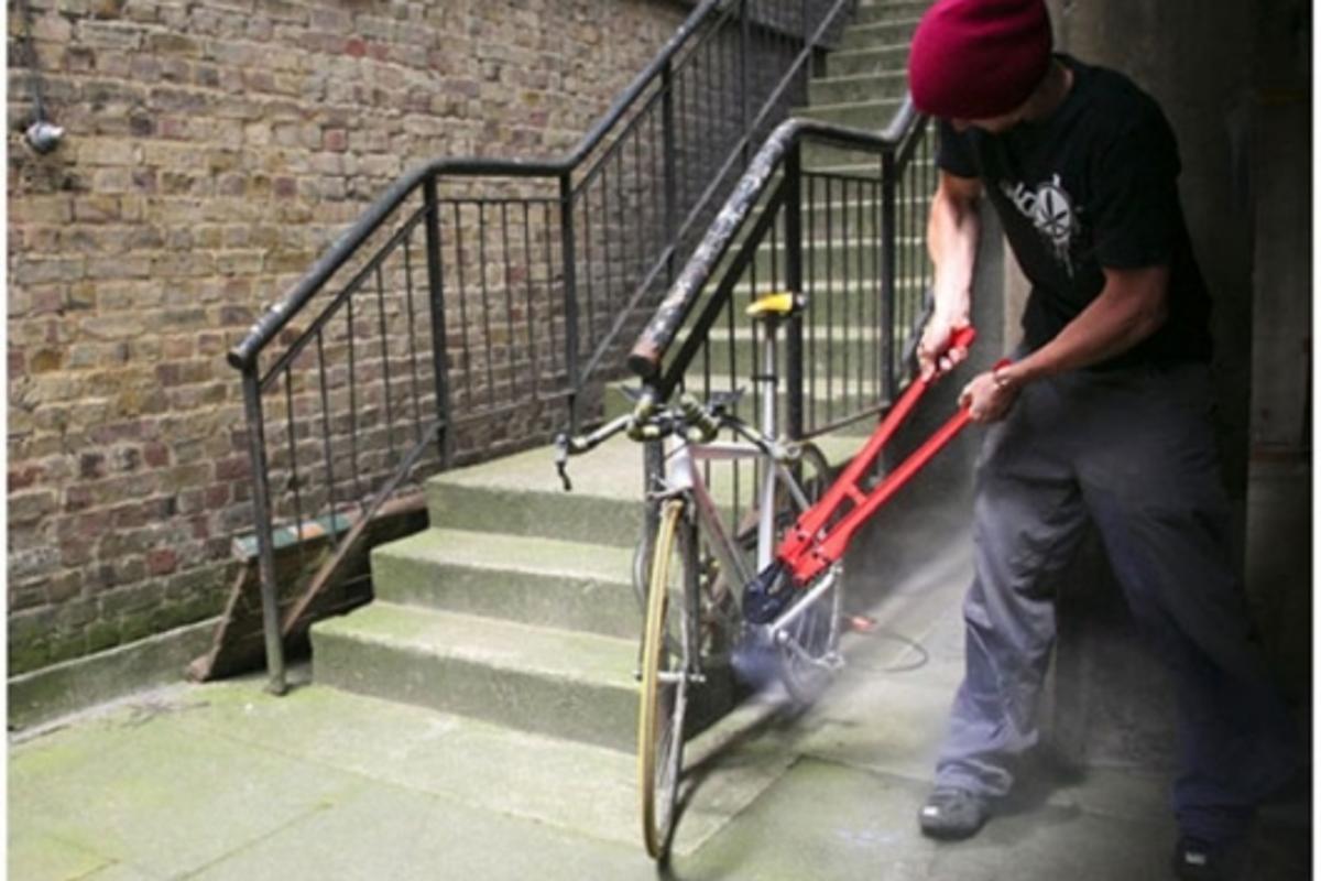 SmartLock bike theft solution