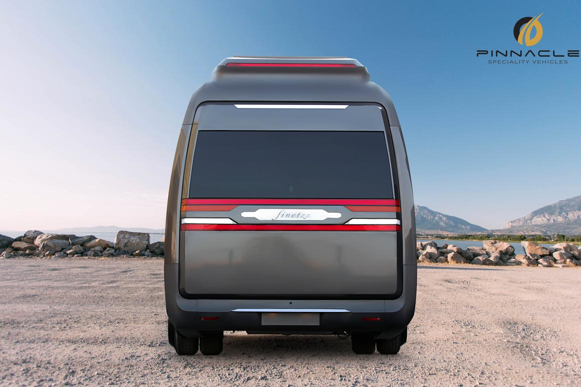 Finetza expanding camper van is part beauty, part beast