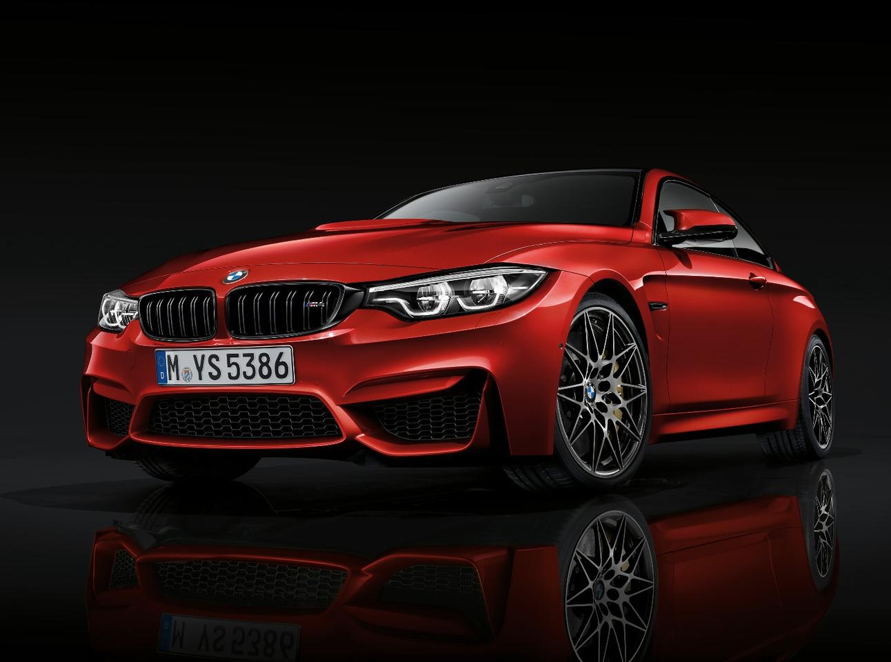 The new M4 gets no more power than before, but its new face is prettier