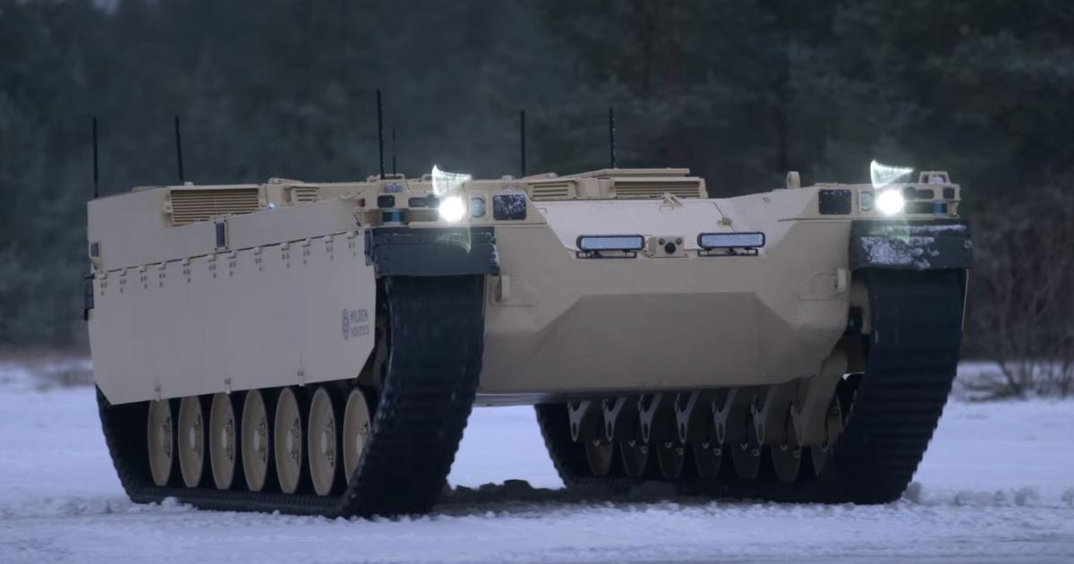 Milirem's Type-X robotic armored combat vehicle begins ground testing