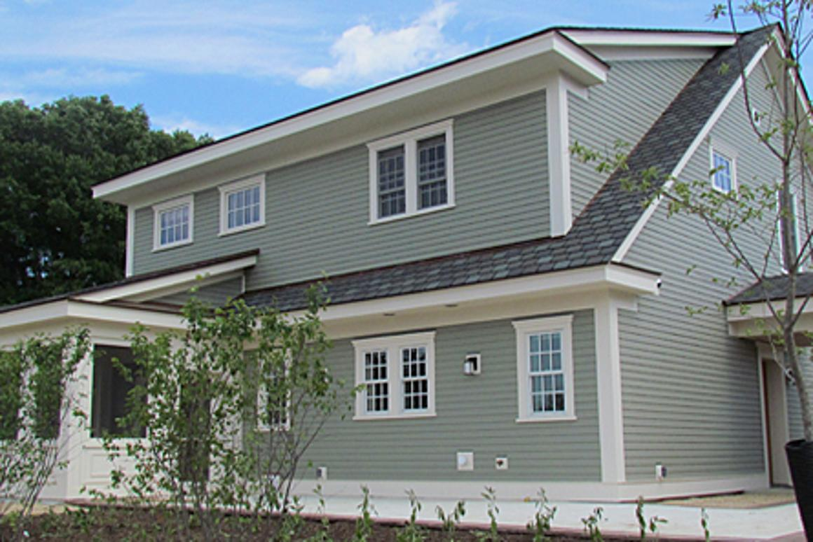 The net-zero test home at the National Institute of Standards and Technology (NIST)