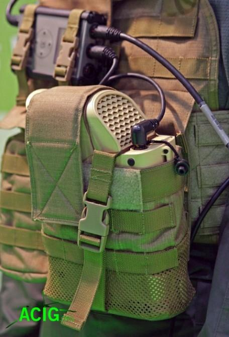 An example of the JENNY portable fuel cell as used by soldiers