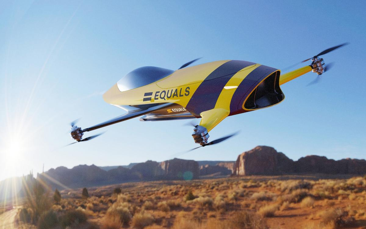 Airspeeder plans to kick off manned multicopter racing in 2020,including head-to-head racing