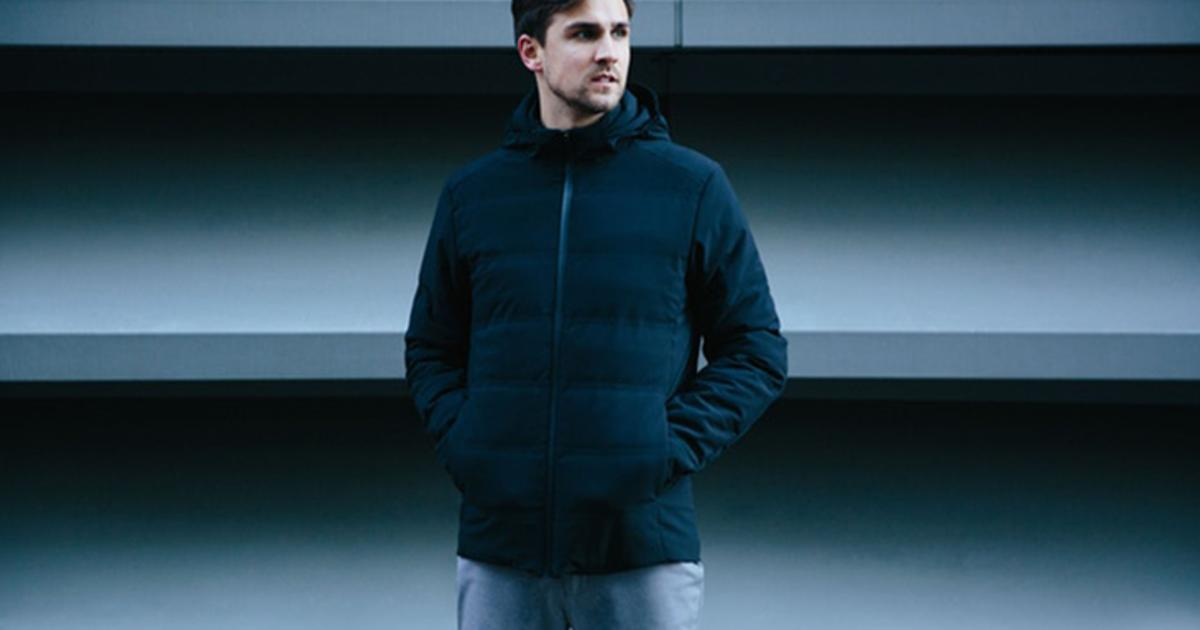 Self-heating jacket uses machine learning to keep its owner comfy