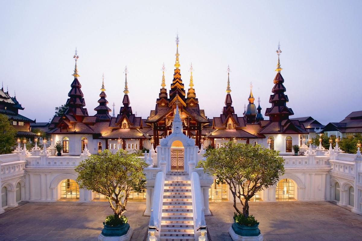 Dhara Dhevi Chiang Mai Resort is not just a resort, it's practically a 13th century kingdom