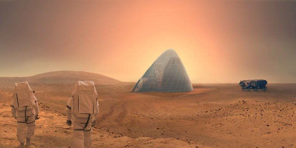 Habitats for the first astronauts to Mars could be 3D printed, by extracting and refiningmetals from the soil