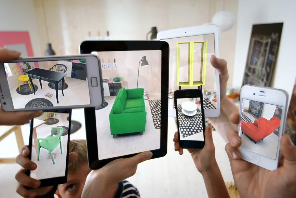 IKEA makes virtual room design easier with augmented reality
