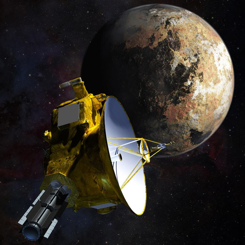 New Horizons is scheduled to closest approach to Jupiter on July 14, 2015 (Image: JHUAPL/SwRI)