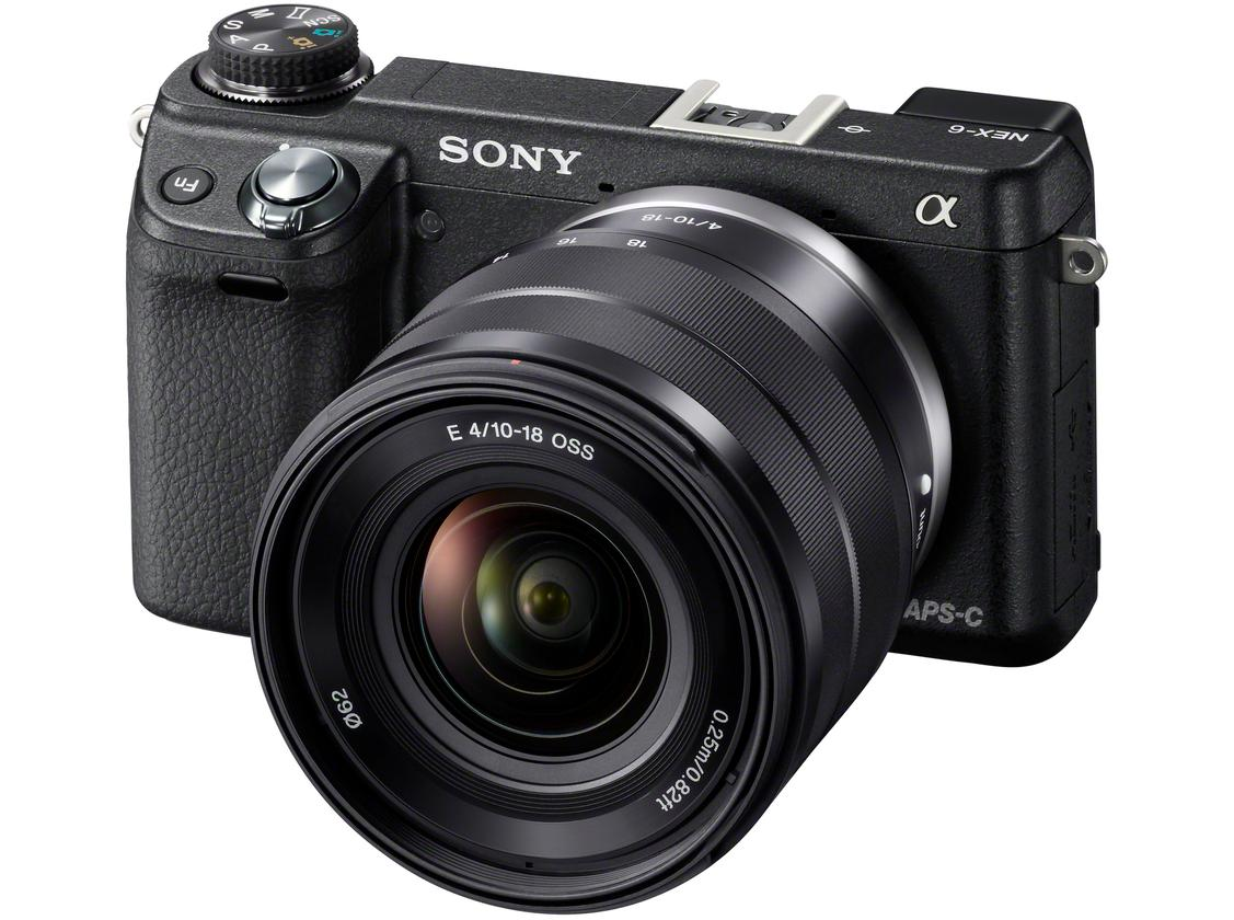 The Sony NEX-6 will be available from October for US$850 body-only, or $1000 with a 16-50mm F3.5-5.6 OSS power zoom lens with Optical SteadyShot image stabilization