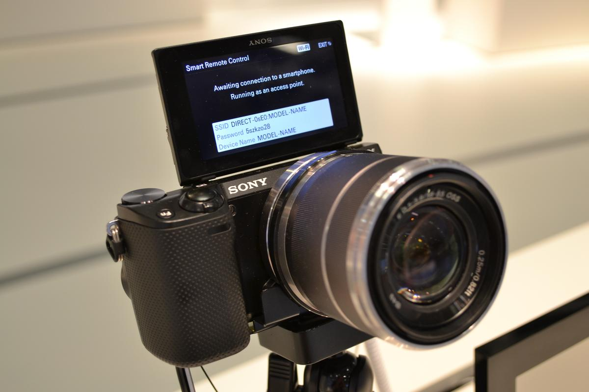 The NEX-5R has a new Fast Hybrid AF, which combines on-sensor phase-detection and contrast-detection autofocus