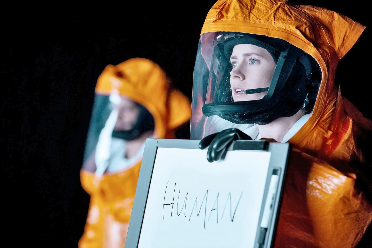 Amy Adams in the science fiction highlight of 2016, Arrival