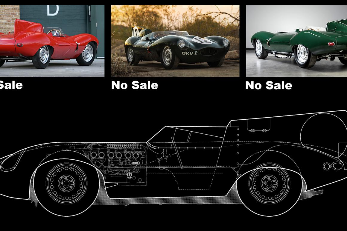 Since the Jaguar XKSS continuation models were announced, an XKSS and three D-Type Jaguars have failed to sell at auction. Could Jaguar be ruining the auction market for its biggest fans?