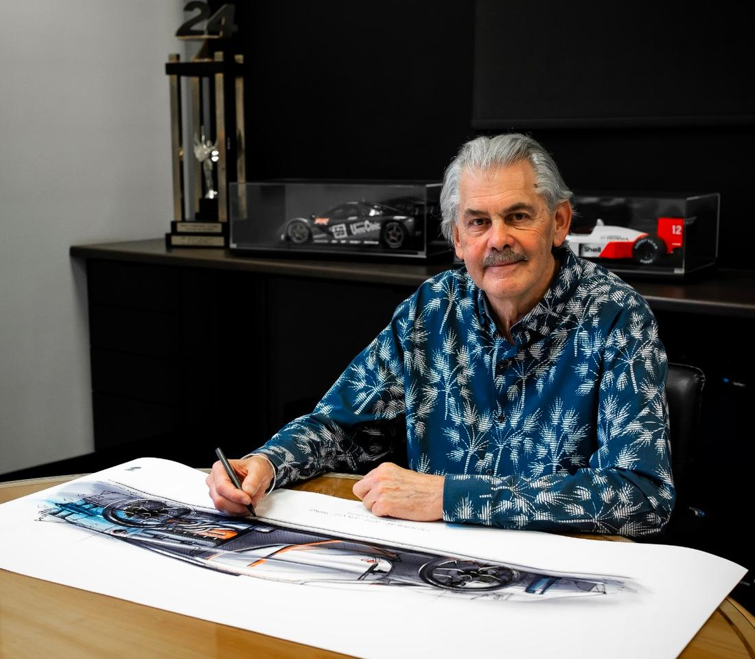 Gordon Murray's sense of automotive style is even better than his taste in shirts