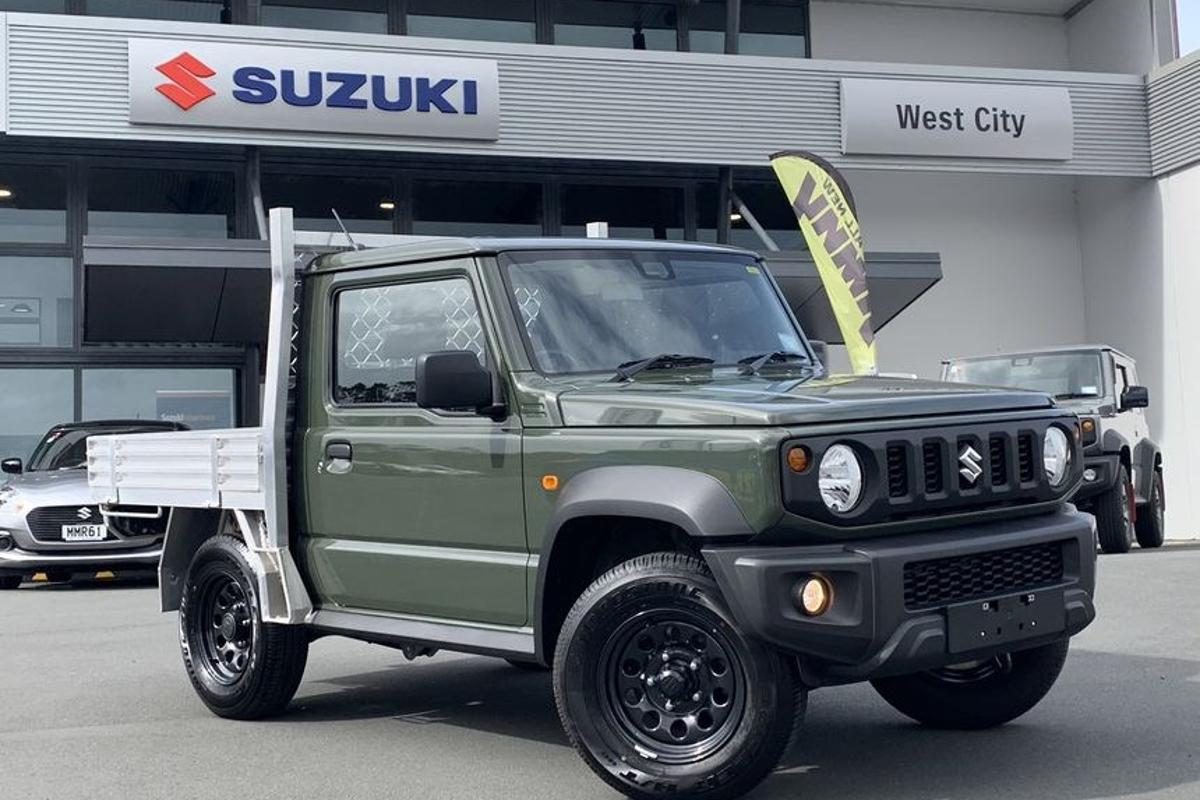 Suzuki New Zealand will chop your Jimny into a fully certified work ute