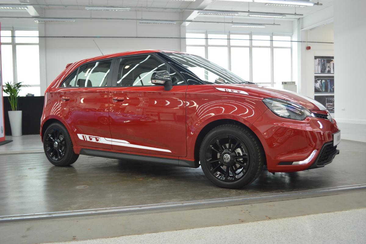 MG unveils its MG3 hatchback (Photo: Gizmag)