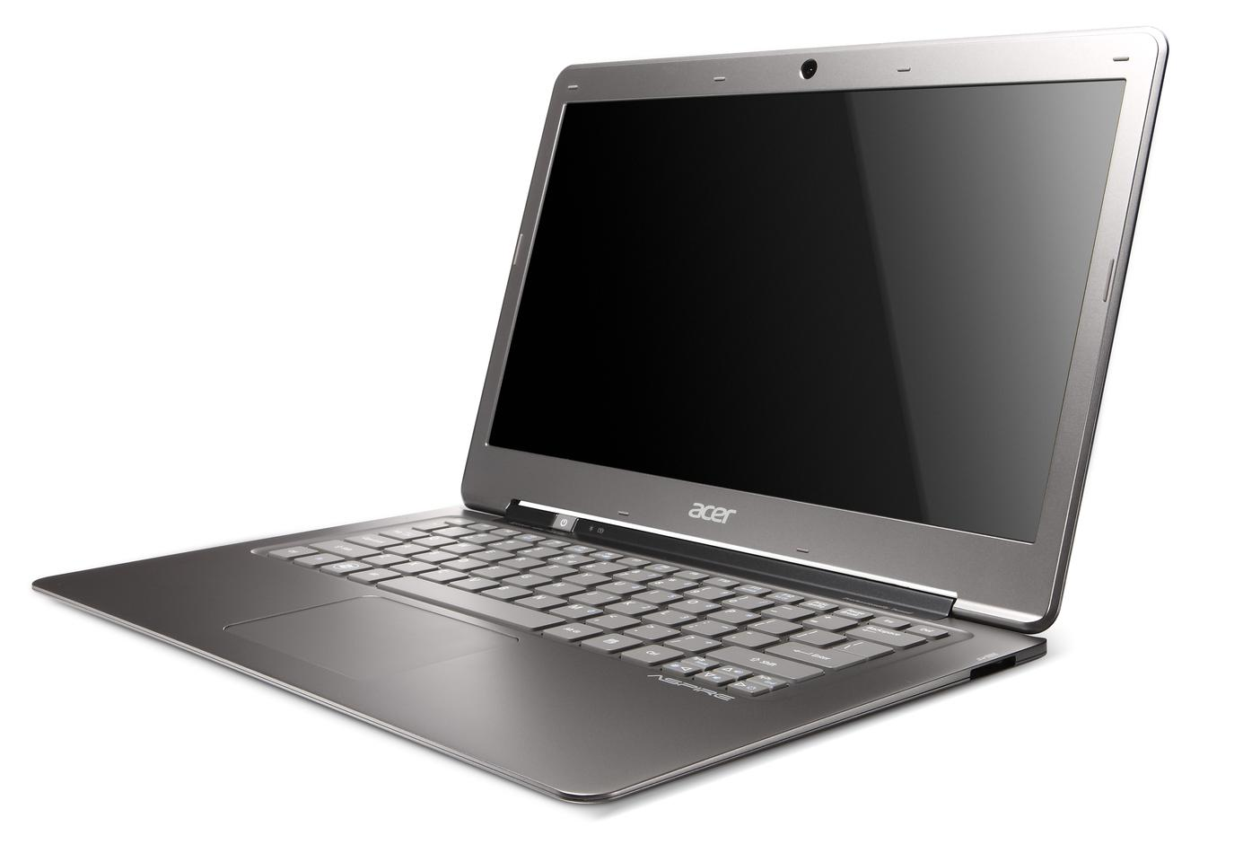 The Acer Aspire S3 Ultrabook has a 13.3-inch high definition, LED-backlit display, full chiclet-style keyboard and is just 13mm (0.51-inch) thin