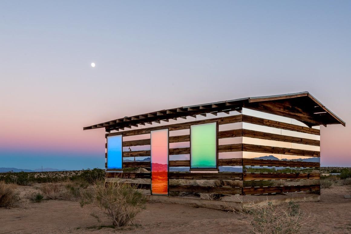 The Lucid Stead is based in Joshua Tree, San Bernadino County, California (Photo: Steve King/royale projects : contemporary art)