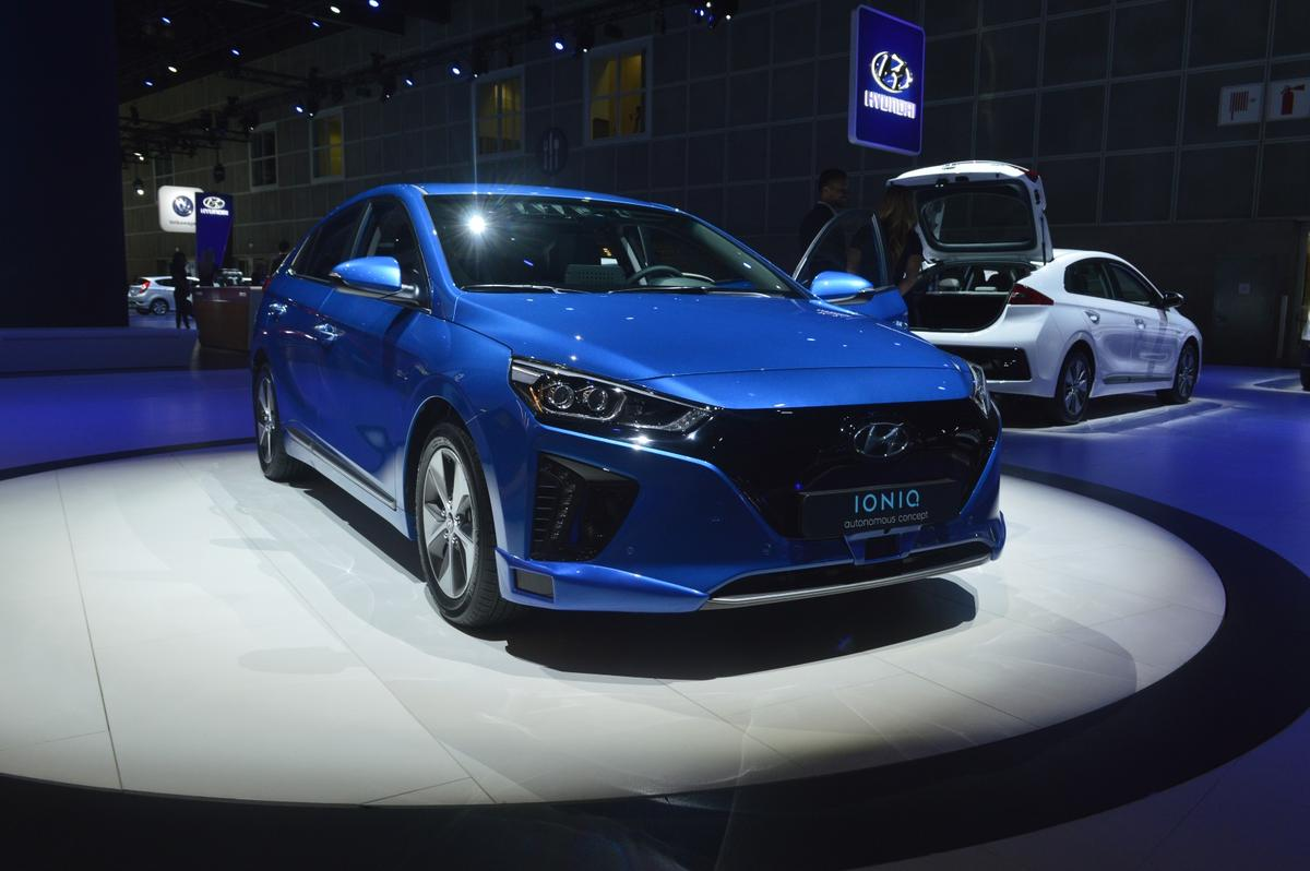 The Autonomous IONIQ concept joins the the hybrid, plug-in hybrid and battery-electric models under the IONIQ name