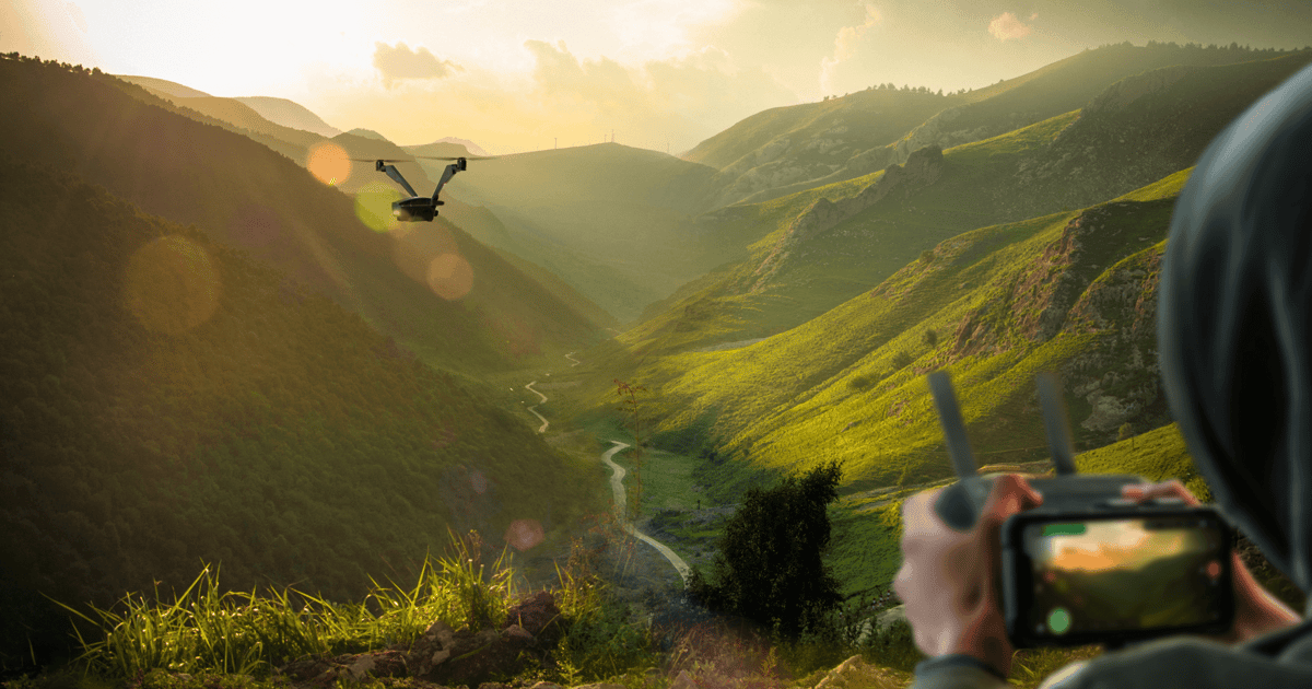 """Bizarre """"bicopter"""" drone uses two tilting rotors for 50-minute flights"""