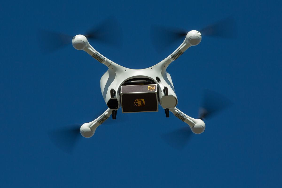 UPS uses Matternet's M2 drones for its aerial delivery pursuits