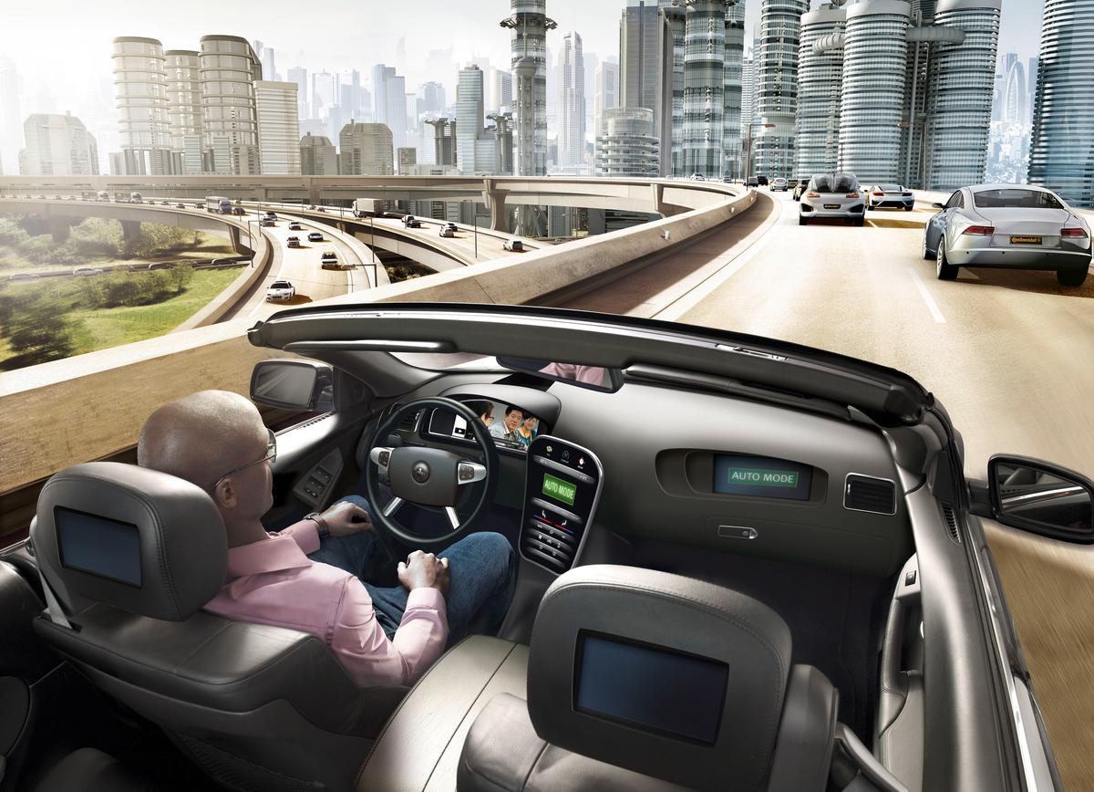 BMW and Continental have joined forces to develop technology that will enable highly autonomous freeway driving by 2020
