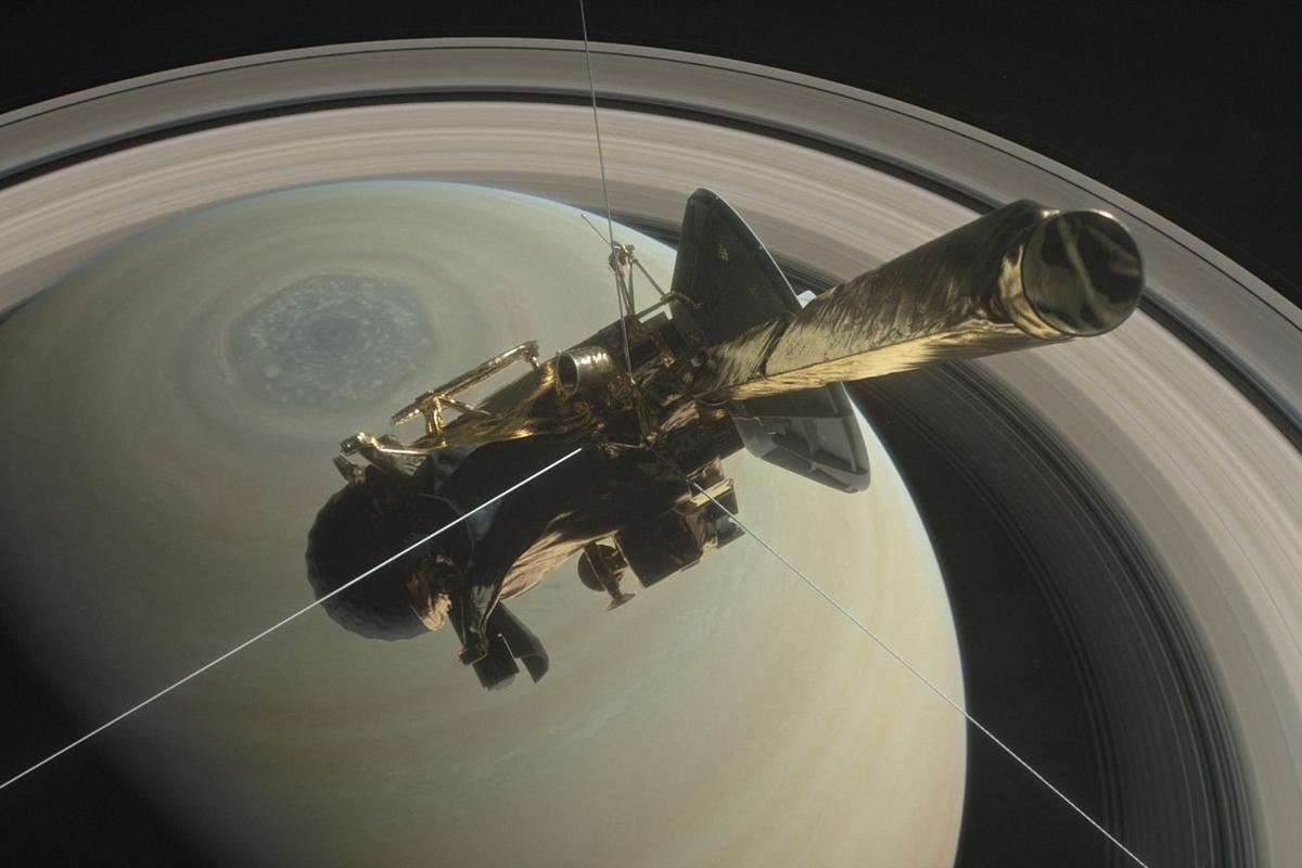 Cassini will continue sending data from several instruments right up until its signal is lost on September 15