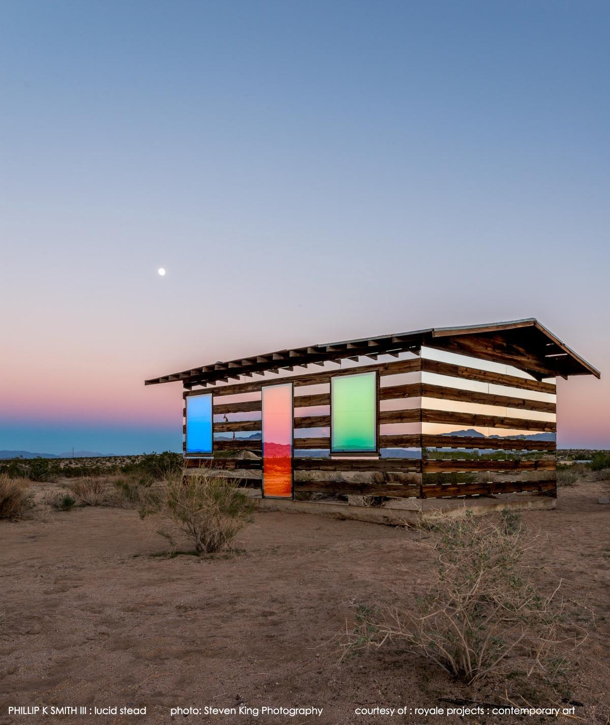 The Lucid Stead is based in Joshua Tree, San Bernadino County, California (Photo: Steve King/royale projects : contemporary art)